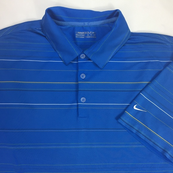 1094aafe2 Nike Shirts | Golf Fit Dry Mens Xxl Polo Shirt Spandex 2xl | Poshmark